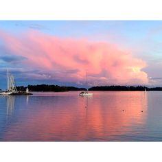 Sunset @ Helsinki, Finland