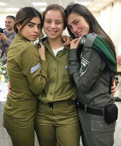 IDF - Israel Defense Forces - Women Idf Women, Military Women, Israeli Girls, Brave Women, Military Girl, Female Soldier, Girls Uniforms, Poses, Beautiful Women
