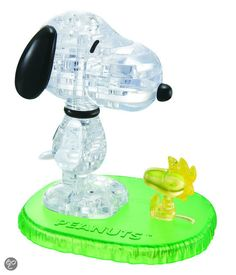 bol.com | Crystal Puzzel Snoopy & Woodstock | Speelgoed