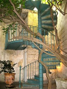 Spiral Staircase, Avignon, France photo via martine (Blue Pueblo) Monuments, Ville France, France Photos, Provence France, Stairway To Heaven, South Of France, France Travel, Stairways, Architecture Details