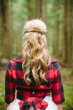 Lumberjack Wedding Shoot   Ruffled