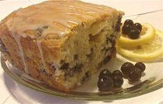 Skinny Lemon & blueberry loaf
