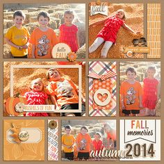 Layout using {Pieces of Autumn} Digital Scrapbook Kit by Digital Scrapbook Ingredients available at Sweet Shoppe Designs http://www.sweetshoppedesigns.com//sweetshoppe/product.php?productid=32160&cat=778&page=2 #digitalscrapbookingredients