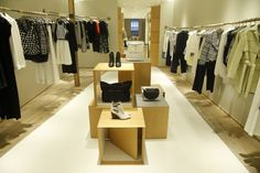 Inside the Derek Lam 10 Crosby store in SoHo.