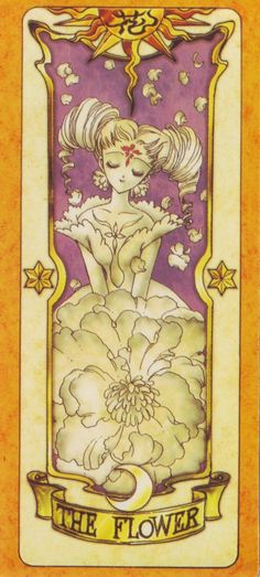 Clow Cards (Cardcaptor Sakura) - Flower Card