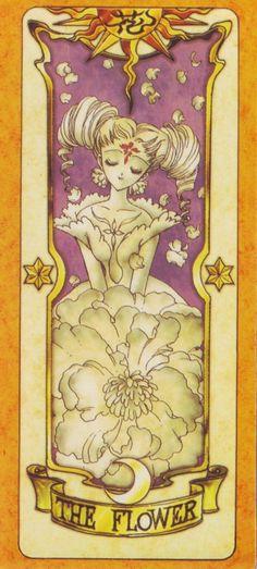 Clow Cards (Cardcaptor Sakura) - Flower Card