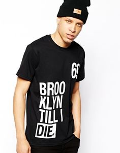 Anticulture T-Shirt with Brooklyn Front and Back Print