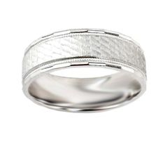 Mens 10k White Gold Satin Textured Comfort Fit Plain Wedding Band, Size 9 Amazon Curated Collection,http://www.amazon.com/dp/B004GHNQ2W/ref=cm_sw_r_pi_dp_TZxQrbA5165D49B3