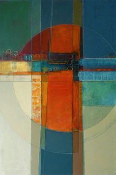 Small World, Karen Jacobs, #art #abstract