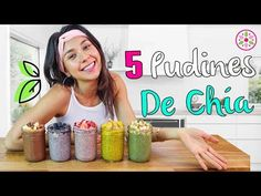 5 CHIA PUDDINGS FOR BREAKFAST! 😋Yovana Chia puddings don't need to be saved for dessert!💖 They're so healthful that you can also eat them for a snack or brea. Raw Food Recipes, Vegetarian Recipes, Cooking Recipes, Healthy Recipes, Paleo Breakfast, Breakfast Recipes, Healthy Snacks, Healthy Eating, Chia Recipe