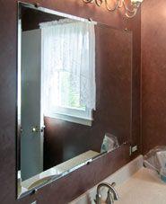 Custom Mirrors Mirror Shop, Frameless Mirror, Custom Mirrors, Custom Glass, Design Your Own, Montessori, Wall, Home, Haus