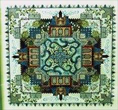 Secret Victorian Garden Needlework