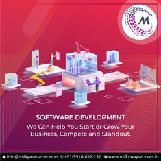 We can help you start or grow your business, compete and standout. Through our custom software development innovations. Get your websites, applications developed today. . . #software #softwaredevelopment #softwaredesign #development #technology #developer #customsoftware #webdesign #websitedevelopment #startup #website #schoolsoftware #erpsoftware #hrmsoftware #ecommerce #businessapp #business #itcompany #branding Global Business, Free Website, Growing Your Business, Software Development, Ecommerce, Web Design, Presentation, About Me Blog, Branding