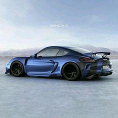 Porshe Cayman GT4