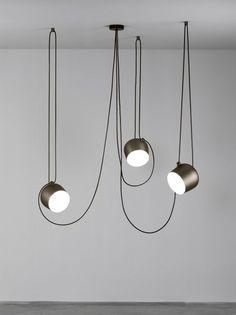 Inspirational Aim er Set Pendelleuchte Flos designed by Ronan u Erwan Bouroullec ab