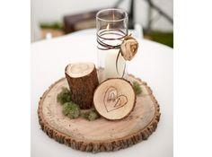 Deco Table Automne Party Idees : Id�es sur rondin objet tables basses et d�co