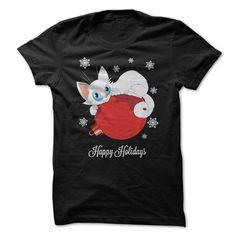 Happy Holidays Cat #sweatshirt storage #sweater and leggings. TRY  => https://www.sunfrog.com/Pets/Happy-Holidays-Cat.html?id=60505