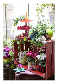 Serviteur Babell Koziol Collection en porcelaine La vie est Belle, Fox trot. Ambiance & Styles