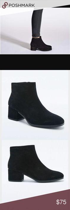 Selling this Vagabond Daisy Black Mod suede boots US8/EU38 on Poshmark! My username is: nikijayb. #shopmycloset #poshmark #fashion #shopping #style #forsale #Vagabond #Shoes