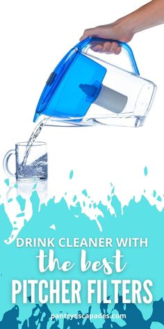Best Pitcher Water Filter   Pantry Escapades Frugal Recipes, Frugal Meals, Wine Recipes, Water Filter Pitcher, How To Remove, How To Apply, Water Pitchers, Getting Hungry