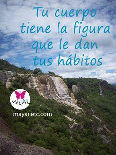 Tus hábitos moldean tu cuerpo. Te espero en mayarietc.com