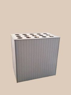 Vinyl, Poly Paper and photography backdrop storage unit for Studios. Holds 15.