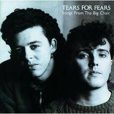 Purchase this original 1985 vinyl pressing of Songs From The Big Chair, the second album from new wave band Tears For Fears. Browse our selection of other rock albums on vinyl at Voluptuous Vinyl Records! Beatles, Pet Shop Boys, 80s Musik, John Cryer, Dark Wave, Musica Online, Pochette Album, Tears For Fears, Music Album Covers