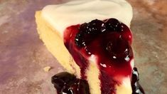 Lemon Tendercake with Blueberry Compote Recipe | The Chew - ABC.com