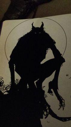 silhouette of terror