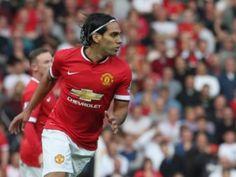 Primer gol de Radamel Falcao García con el Manchester United