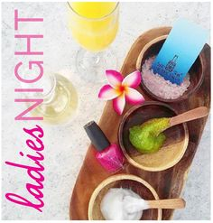 Come see us for Ladies night! Friday From Enjoy complimentary wine or mimosas with your service. Bring your girlfriends and come get pampered! THE NAIL SALON Orlando 1700 N. Bottomless Mimosas, Ladies Night, Spa Day, Manicure And Pedicure, Orlando, Girlfriends, Salons, Massage, March