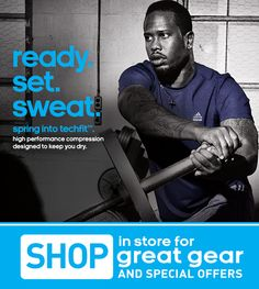 Adidas - Spring Into Techfit - NEW Gear At Outlets!