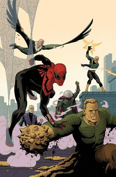 superior spider-man and the sinister six