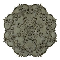 Make any wall in your home more elegant and cultured when you hang this abbey wall hanging ornament. Black and silver highlights add depth to the piece, and encourage guests to take a longer look at i