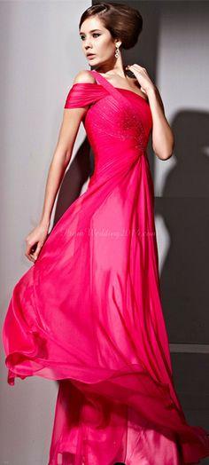 Gorgeous evening dress.