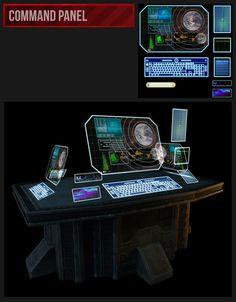 Sci-Fi Environment - Joshua Andersen