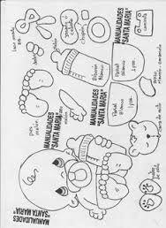 Resultado de imagen para Booties foami Moldes EVA Baby Shower Crafts Patterns