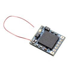 DasMikro 5CH 2.4Ghz RC Micro Receiver For DSM2 JR Spektrum transmitter With 6 CH PPM Output