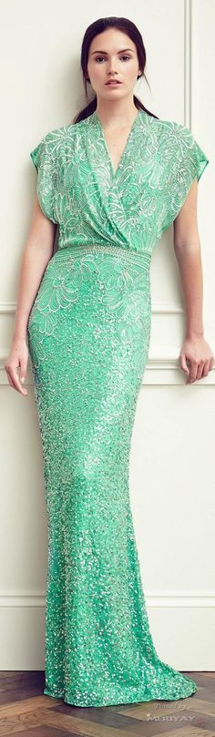 Jenny Packham Resort 2015 § mint