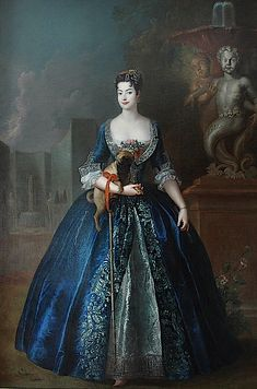 c1730 Anna Karolina Orzelska by Antoine Pesne found at http://www.gogmsite.net/grand-ladies-of-the-eightee/