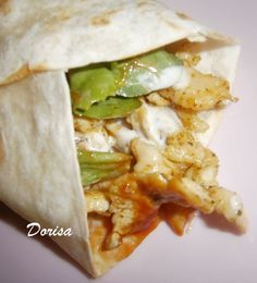 Fotorecept: Tortily plnené kuracím mäsom Fajitas, Tacos, Pizza, Tortillas, Ethnic Recipes, Food, Mince Pies, Essen, Meals