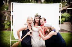photo booth is a fun wedding reception ideas