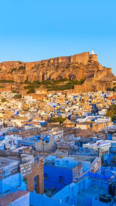 "Travel to India and explore the spectacular ""blue city"" known as Jodhpur..."