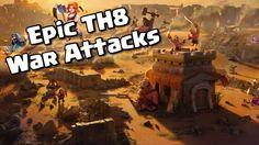 TH8 WAR ATTACK GROUND STRATEGIES - Clash Of Clans