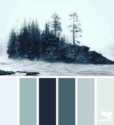 Dark Forest palette