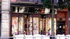 la Sombrerería Mil, una tienda con solera situada pleno centro de Barcelona (Fontanella 20, junto a Vía Laietana)