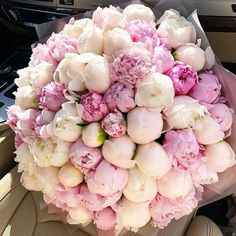 Choose your bouquet for the most important occasion 💜 Such tender peonies will suit every beautiful woman😍 Double tap & TAG your besties… My Flower, Fresh Flowers, Beautiful Flowers, Pink Flowers, Wedding Bouquets, Wedding Flowers, Peonies And Hydrangeas, White Ranunculus, Flower Aesthetic