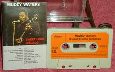 Muddy Waters - Sweet Home Chicago - Astan - German Release - Audio Cassette