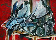 Chat et homard, 1965 | Pablo Picasso