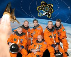 The STS-134 crew!